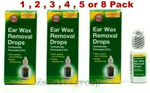 Ear Wax Removal Drops Dr Sheffield's 0.5 oz ( 1/2/3/4/5/8 PC) Made In USA