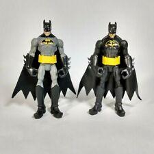 """6"""" Battle Gauntlet & Justice League Batman Action Figures 2011 DC Mattel x2295"""