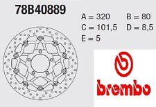 Disco Freno Brembo Serie Oro cod. 78B40889