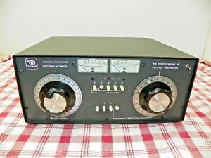 Vintage NYE VIKING MB-V-A Antenna Tuner  **See listing Concerning the Meters**