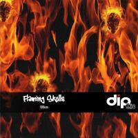 Flaming Skulls - Hydrographics Film 100cm - Hydro Dipping FOLDED