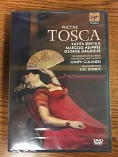 Tosca DVD: Puccini Mattila, Alvarez Gagnidze Bondy Metropolitan Opera. NEW!
