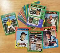 1975 Topps U-pick Combined Shipping