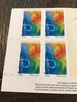 US Scott # B1 Plate Block Of 4 Stamps MNH Breast Cancer free shipping in USA