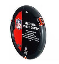 Cincinnati Bengals Auto Rubber Steering Wheel Cover