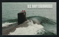SCOTT 3373-77 BOOK 279 BC153 2000 U.S. NACY SUBMARINES ISSUE MNH OG VF CAT $30