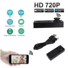 New Black Mini Hidden Button Spy DV Camera Video PC DVR Voice Recorder 720*480