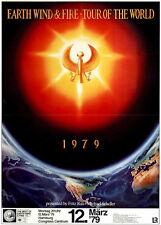 Earth Wind & Fire - Tour of the World ORIGINAL A1 Konzertplakat 1979