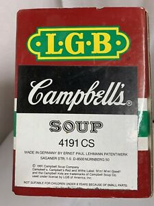 LGB #4191 CS Campbell's Soup Kids Sports Theme-New In Box VINTAGE