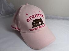 Steiner Tractor Parts Pink Trucker Baseball Cap