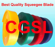 2x13 65 Duro Durometer Silk Screen Printing Squeegee Red Blade Screenprinting