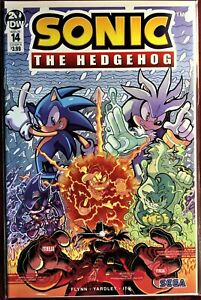SONIC The HEDGEHOG Comic Book IDW #14-B  February 2019 Bagged & Boarded MINT