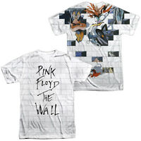 PINK FLOYD THE WALL Licensed Sublimation Adult Men's Band Tee Shirt SM-3XL