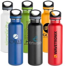 48 Custom Printed Water Bottles, Bulk Promotional Products, Wedding Party Favor