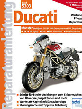 DUCATI MONSTER Desmo S4/S4R/S4RS Testastretta 2001-2008 REPARATURANLEITUNG 5303