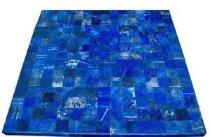 "30"" Marble Center Lapis Table Top Handmade Work For Home Decor"