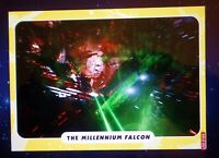 Topps Star Wars Card Trader THE MILLENNIUM FALCON GOLD 23cc MADE DIGITAL CARD