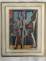 "Vintage Plaque Pablo Picasso ""The Three Dancers""."