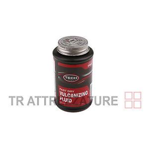 Mastice soluzione x pezze riparazione TECH 760 ml.235  pneumatici auto moto