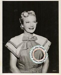 Ann Harding CLOSE-UP portrait vintage original possibly for Stage or Television!