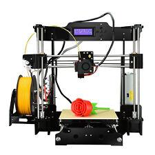 A8 Wooden Reprap 3D printer Stampante 3d Prusa I3 Pro MK8 Extruder DIY SN