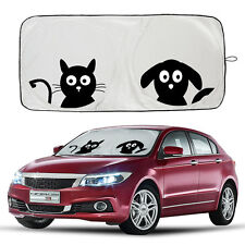 Pattern Car Front Window Wind Sun Visors High Quality Polyamide Nylon Sunshades