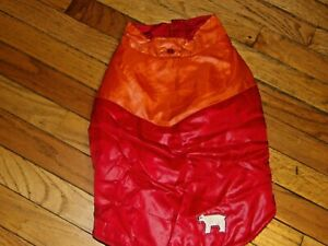 Old Navy Red Dog Jacket Size Small