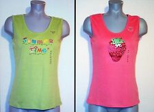 NWT $52 MOUNTAIN LAKE 2 PULLOVER DECORATIVE TANK TOPS S