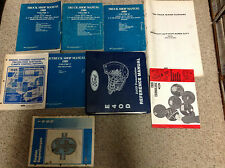 1989 Ford OEM F150 F250 F350 TRUCK BRONCO ECONOLINE Service Shop Repair Manual