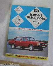 Revue technique EXPERT AUTOMOBILE 189 1982 Audi 80 CL / formule E GL / GL auto