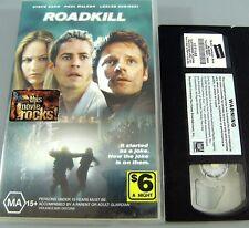 ROADKILL ~ it started as a joke, Now the joke is on them : PAL VHS EX-RENTAL