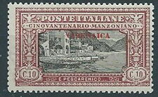 1924 CIRENAICA MANZONI 10 CENT MNH ** - RR13615