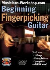 Learn to Play Beginning Fingerpicking Guitar (DVD) Guitar Instruction Course