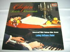 LP Chopin Popular Piano Pieces L.Hoffmann A