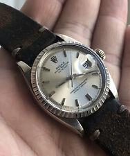Rolex Datejust 1603 engine turned bezel 5513 1601 1803 5512 1675 1655 Day Date