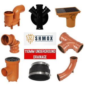 Underground Drainage 110mm | Bends | Traps | Gullies | Inspection Chamber