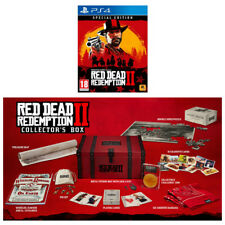 Red Dead Redemption 2 Special Edition & Collector's Box - PS4 Bundle - UK NEW!