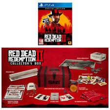 Red Dead Redemption 2 édition spéciale & collector's Box-PS4 Bundle-UK neuf!