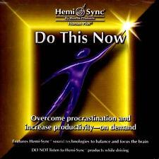 Hemi Sync - Do Dies Jetzt CD NEU Energie Enthusiasm Positivität