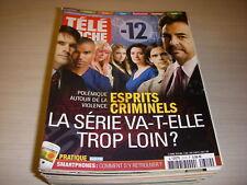 TELE POCHE 2310 17.05.2010 ESPRITS CRIMINELS CARMOUZE Victor LANOUX COLD CASE