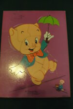 1971 CONNOR TOY - 12 piece TRAY PUZZLE - PORKEY PIG HIGH WIRE ACT