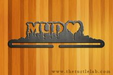 "18"" Wide Mud Love Tough Mudder Medal Hanger Runner Run Metal Art Obstacle Course"