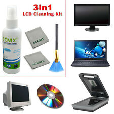 LCD LED TV PC PLASMA HDTV 4K SCREEN CLEANER GLASS PLUS CLEANING CLOTH RRP £20