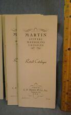 1935 MARTIN GUITARS MANDOLINS UKELELES RETAIL CATALOGUE REPRINT#2
