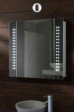 PHOTONIC - BATTERY LED ILLUMINATED BATHROOM MIRROR CABINET / IP44