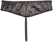 Perizomi, tanga, slip e culottes erotichi da donna nere in pelle