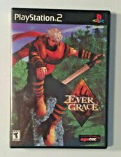 Ever Grace (PS2) PlayStation 2 - manual, case and game disc