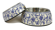 Dog Cat Pet Bowl China Porcelain Ceramic Melamine & Stainless-Steel Anti-Slip
