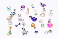 Authentic Pandora Charms 20 Assorted Crystal Rhinestone Bead Charm