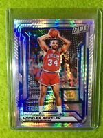 CHARLES BARKLEY CARD JERSEY #34 PANINI 2019 PRIZM 76ers SP */99 National VIP SSP
